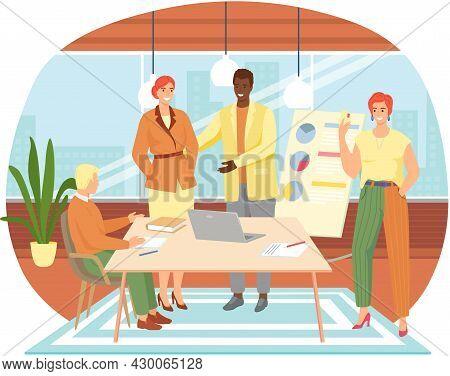 Team Congratulate Colleagues. Diverse People Celebrate Career Development, Successful Project, Birth