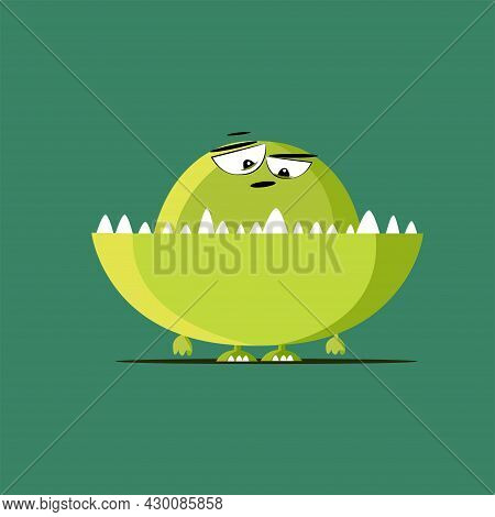 Vector Illustration, Card For A Child, Vector Cute And Funny Cartoon, Kids, Children S Illustration,