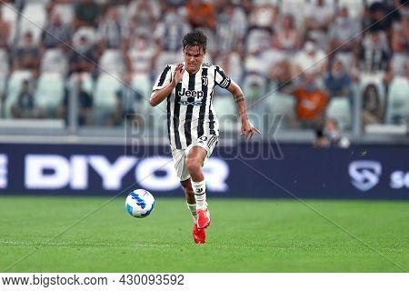 Torino, 14 August 2021. Paulo Dybala Of Juventus Fc  During The Friendly  Match Between  Juventus Fc