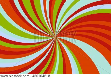 Abstract Psychedelic Groovy Background. Vector Illustration. Abstract Background.
