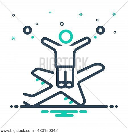 Mix Icon For Impossible Hardly-possible Unobtainable Unfeasible Unthinkable Unbelievable Airplane Pe