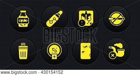 Set Trash Can, No Smoking, Stop Smoking, Money Saving, Area, Disease Lungs, Electronic Cigarette, Sm
