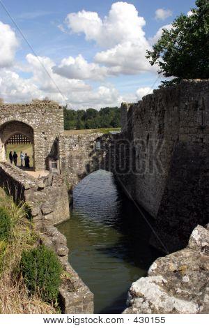 Moat At Leeds Castle