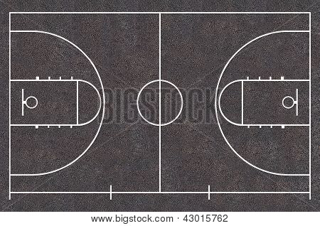 Street Basketball court