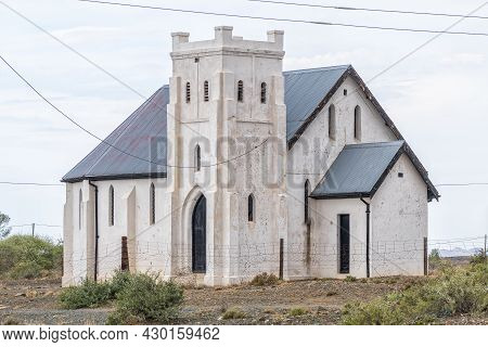 Klipplaat, South Africa - April 21, 2021: The Anglican Church In Klipplaat In The Eastern Cape Provi