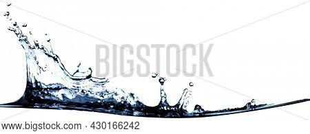 purity water splashing wave water drop splash