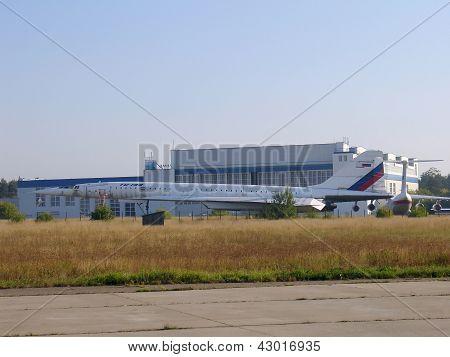 Supersonic Plane Tu-144