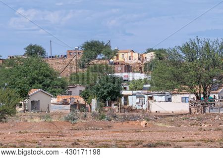 Steytlerville, South Africa - April 21, 2021: Houses In A Township In Steytlerville In The Eastern C