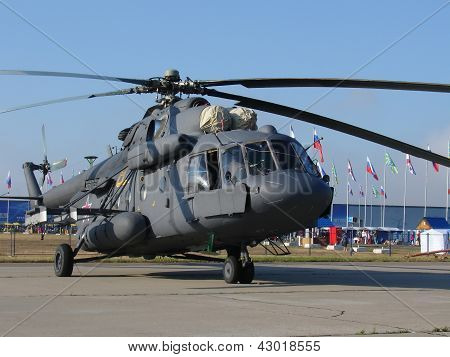 Mi-8 Russian Military Helicopter