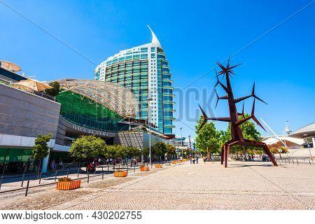 Lisbon, Portugal - June 26, 2014: Vasco De Gama Shopping Mall In Lisbon City, Portugal