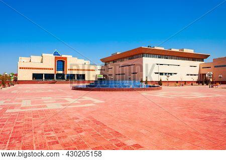 Nukus Art Museum Or Savitsky Museum In The Centre Of Nukus City, Karakalpakstan Region Of Uzbekistan