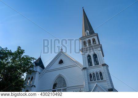 Zion's Lutheran Church In Lunenburg, Nova Scotia, Canada