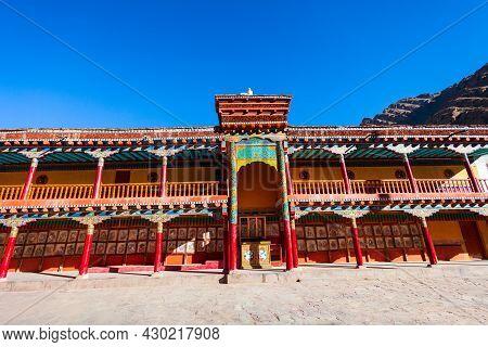 Hemis Monastery Or Gompa Is A Tibetan Style  Buddhist Monastery In Hemis Village Near Leh In Ladakh,