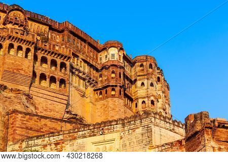 Mehrangarh Fort Is Located In Jodhpur City In Rajasthan Is One Of The Largest Forts In India