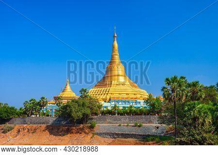 The Global Vipassana Pagoda Is A Meditation Hall In Mumbai City, Maharashtra State Of India