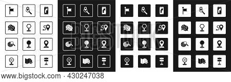 Set City Map Navigation, Road Traffic Sign, Infographic Of City, Location Marker, Route Location, Se