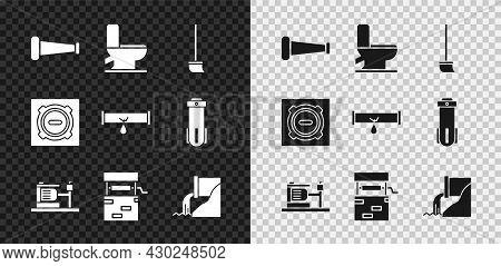 Set Industry Metallic Pipe, Toilet Bowl, Mop, Electric Water Pump, Well, Wastewater, Manhole Sewer C