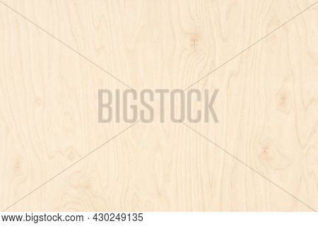 Wood Texture In Pastel Beige Color. Light Wood Board Background. Wood Table