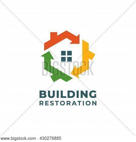 Building Restoration Logo