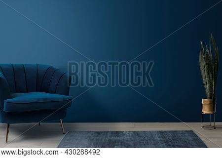 Retro living room interior design