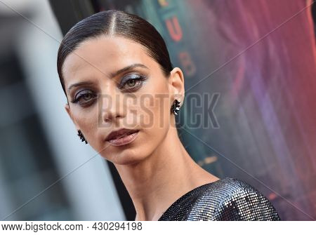 LOS ANGELES - AUG 17: Angela Sarafyan arrives for the 'Reminiscence' Los Angeles Premieree on August 17, 2021 in Hollywood, CA
