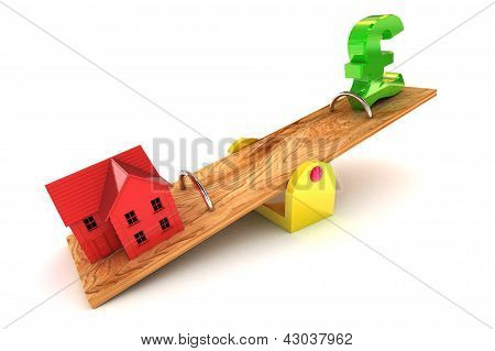 Housing Debt Pound Illustration