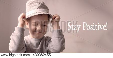 Happy Child Proves Its Positivity And Felicity