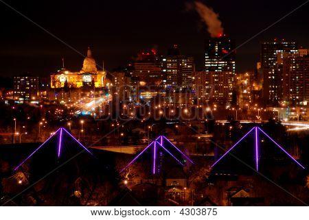 Edmonton Christmas Landmarks