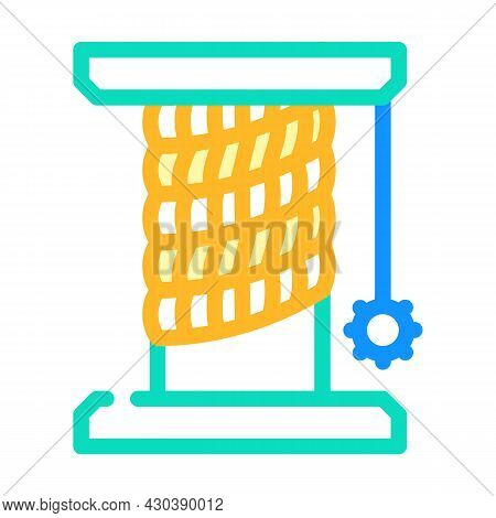 Cat Pet Toy Stand Color Icon Vector. Cat Pet Toy Stand Sign. Isolated Symbol Illustration