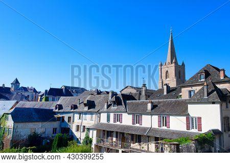 Village Donzenac in French Correze