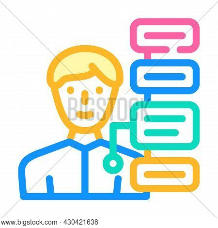 Human Qualities Color Icon Vector. Human Qualities Sign. Isolated Symbol Illustration