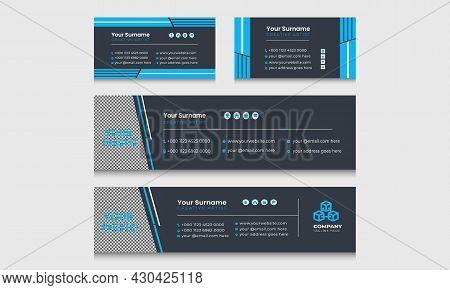 Corporate Business Multi Purpose Email Signature Templates.