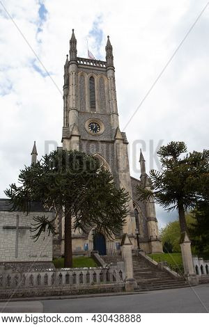 St Mary's Church In Andover, Hampshire In The Uk, Taken 26th May 2021