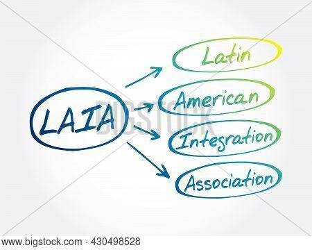 Laia - Latin American Integration Association Acronym, Business Concept Background