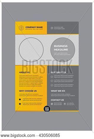 Professional Creative Corporate Business Flyer Design Template