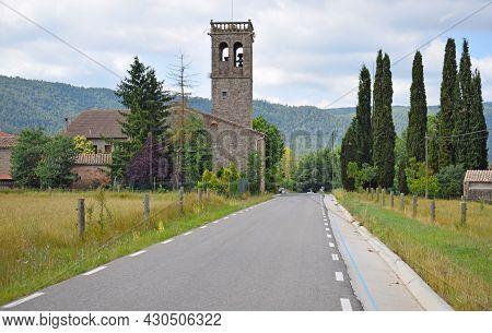 Santa Maria De Marles Rural Town, Catalonia Spain