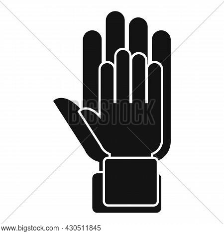 Hands Reliability Icon Simple Vector. Safety Dependable. Social Together
