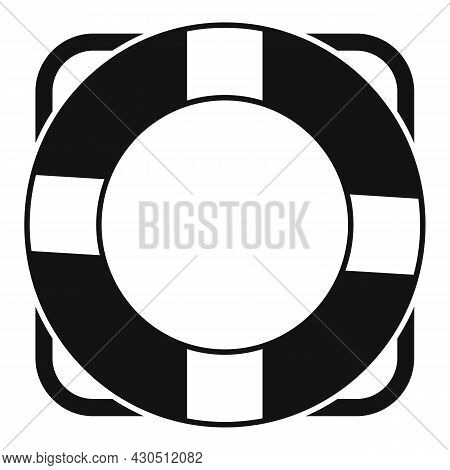 Lifebouy Icon Simple Vector. Saver Life Ring. Emergency Survival