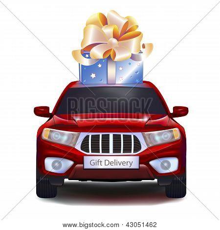 Подарок на автомобиль