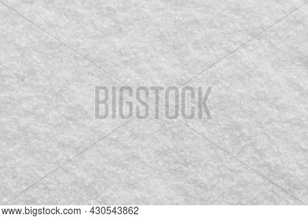 Refined White Sugar Texture Background.  Food Background.
