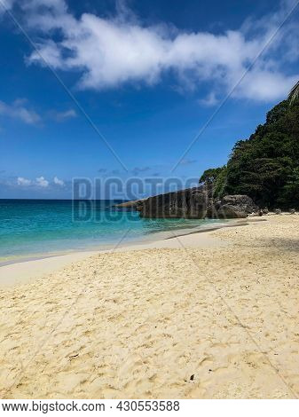 Beautiful Sea And Beach Of Southeast Asia In Thailand, Similan Islands
