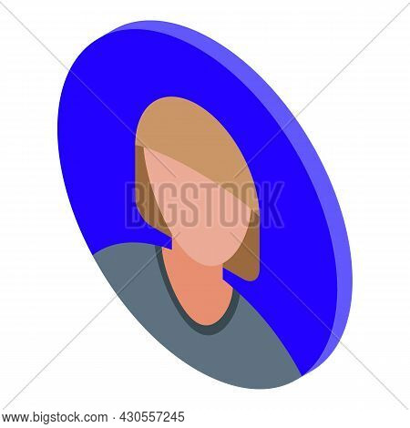 Incognito Avatar Icon Isometric Vector. User Face. Person Anonymity