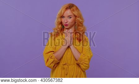 Sneaky Cunning Redhead Stylish Girl With Tricky Face Gesticulating And Scheming Evil Plan, Thinking