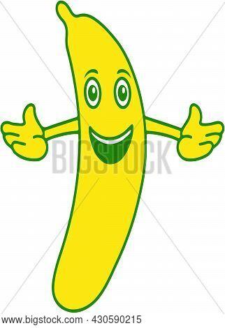 Banana Fruit. Business Logo Banana. Logo Banana.