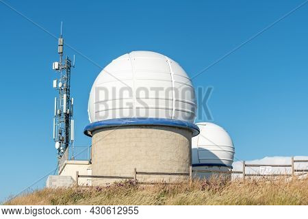 Astronomical Observatory Of The Cosmodrome.