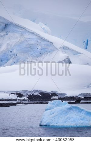 Small Antarctic Iceberg