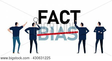 Fact And Bias False Understanding Choosing Reality From Subjective Belief