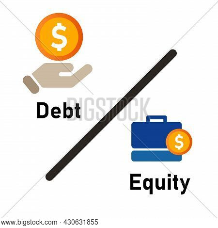 Debt To Equity Ratio Company Fundamental Review Metric By Compare Liabilities And Shareholder Value