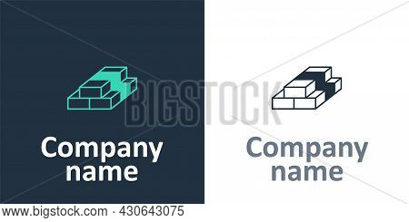 Logotype Stacks Paper Money Cash Icon Isolated On White Background. Money Banknotes Stacks. Bill Cur