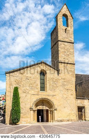 View At The Church Of Saint Michael Archangel In Salon-de-provence, France